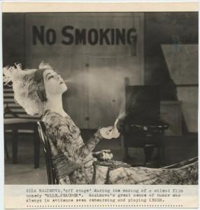 alla smoking