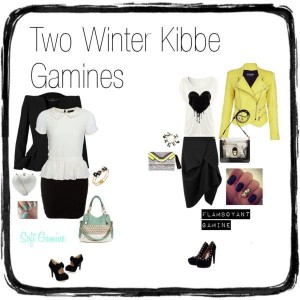 2 winter kibbe gamines