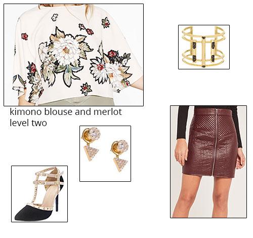 1. Zara Floral Print Kimono Top, $39.90