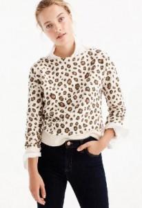 Leopard Sweatshirt, $49.50