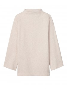 Brushed Mock-Neck Top, $58