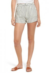 Tularosa Emma Stripe High Waist Shorts, Nordstrom Rack, were $138, now $57.97