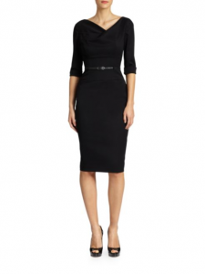 Black Halo Jackie O. Three-Quarter Sleeve Dress, Saks Fifth Avenue, $345-$375