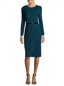 David Meister Belted Sheath Dress, Saks Fifth Avenue, was $395, now $118.50