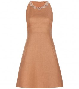 Valentino Embellished Linen Dress, Mytheresa,  was $4,390, now $1,756