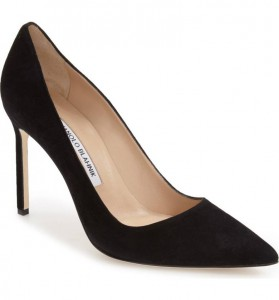 Manolo Blahnik BB Pointy Toe Pump, Nordstrom, $595-$625