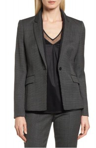 Boss Jeresa Check Stretch Wool Suit Jacket, Nordstrom, $595