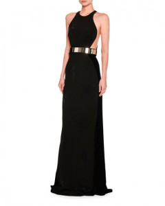 Stella McCartney Saskia Sleeveless Belted Velvet Gown, Neiman Marcus, $4,245