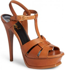 Saint Laurent 'Tribute' Platform Sandal, Nordstrom, $925