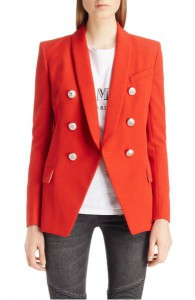Balmain Oversize Wool Blazer, Nordstrom,  $2,395