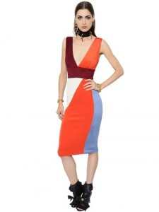 Fausto Puglisi Geometric Technical Pique  Dress, Luisaviaroma, was $1,722, now $861