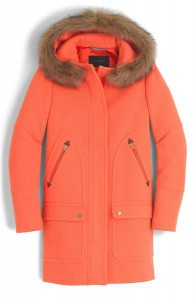 J.Crew Chateau Stadium Cloth Parka with Faux Fur Trim, Nordstrom, $365