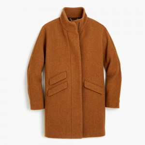 Cocoon Coat in Italian Stadium-Cloth Wool, J.Crew, was $350, now $226.99